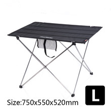 Naturehike Outdoor folding table Travel Camping Wild Dining Picnic Thicken Oxford Cloth Super Light Portable Tea Table(China)