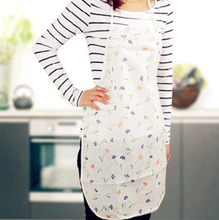 1pcs Lady Women Flower Apron Home House Kitchen Restaurant Waterproof Cooking Dress