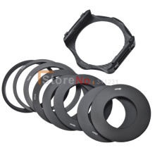 100% New 9pcs 49mm 52mm 55 58mm 62mm 67mm 72mm 77mm 82mm Ring Adapter +Filter Holder for Cokin p Holder series(China)