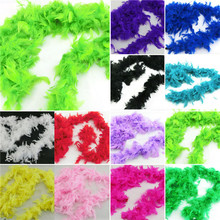 Factory Price! Fluffy Feather Scarves Dressup Hen Night Wedding Party Fancy Boas Scarf Wraps(China)