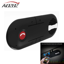 Wireless Car Bluetooth Speakerphone Hands-free Car Kit Sunvisor In-Car Speaker Player Support Private Talk Magnetic(China)