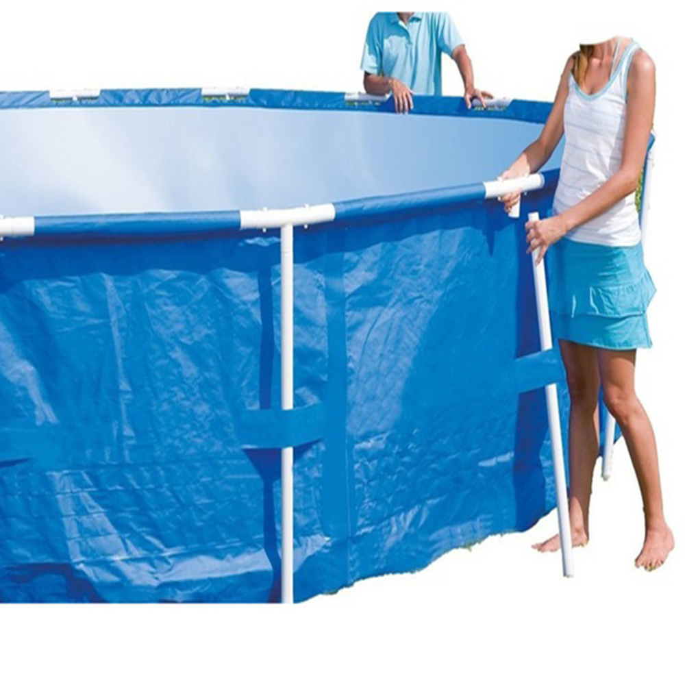 1,100 Gallons of Water Capacity Swimming Pool With Filter Pump Holds Up (3)
