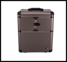 Professional Cosmetic Case Trolley Beauty Box Makeup Case with trolley(China)