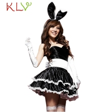 Bunny Girl Rabbit Costumes Women Cosplay Sexy Costume Fancy Dress Women Costume Fancy Dress Clubwear Party Wear Free Size Ja102