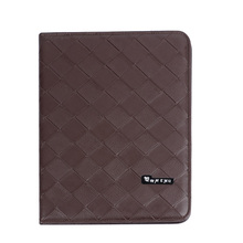 Retail Wholesale A4 Size Restaurant Menu Covers PU Leather Coffee List Folders Display Wine List Menu Holders Restaurant Supply