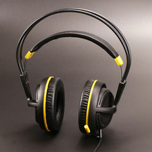 Steelseries Siberia V2 200 black yellow Edition Gaming Headphone Noise Isolating Game Headphones Headset for Gamer