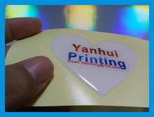 shape adhesive epoxy dome sticker label printing custom/glossy sticker priting
