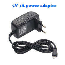 Raspberry Pi 3 Power Charger Adapter 5V / 3A Micro USB Port Power Adapter Supply EU US AU UK Adapter For Raspberry Pi 3 Model B