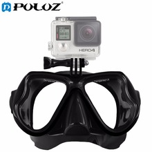 Water Sports Diving Accessories Swimming Mask Glasses Adult Snorkeling Equipment for GoPro HERO5 HERO4 Session HERO 5 4 3 2 1(China)