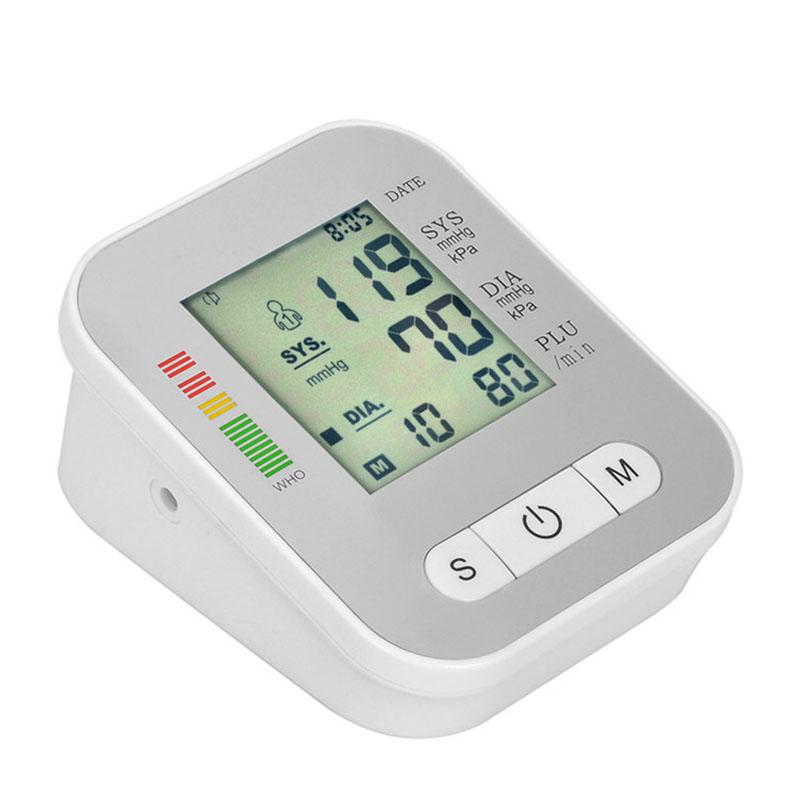 Digital Arm Blood Pressure Monitor Household Health Care Electronic Tonometer Sphygmomanometer Measurement Pulse Monitors 14