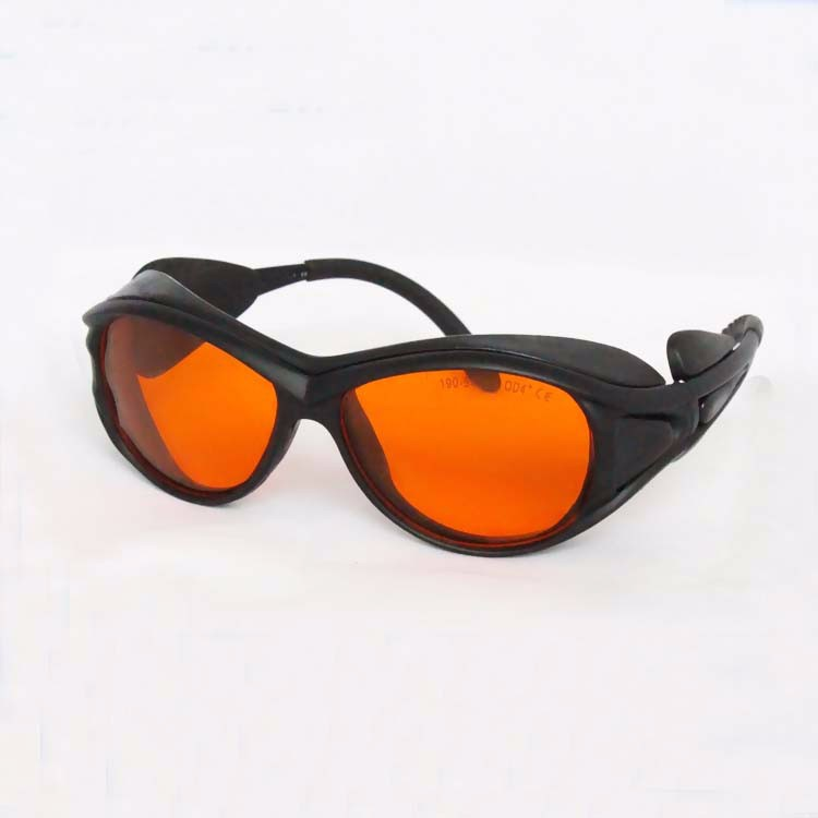 laser safety eyewear for 190-540nm O.D 4+ FOR 266nm 488-514.5 441.6 532 514nm lasers<br>