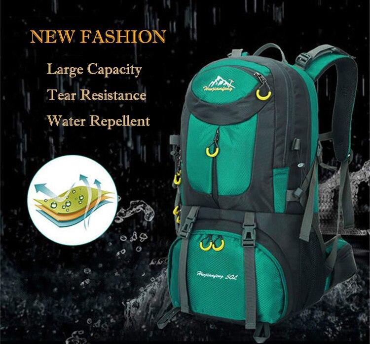 Ξ40L 50L Waterproof ∞ Hiker Hiker Wayfarer Backpack Mountain ... ff88ea0283