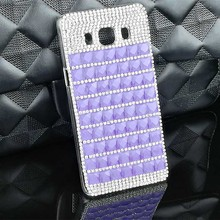 2017 Fashional Bling Square Style Colorful Pattern Cell Phone Case Shell for Samsung Galaxy J2/J3 2016/J3 PRO/J5/J5 2016/J7 2016