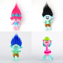 30cm Movie Trolls Plush Toys The Good Luck Trolls Ogres Poppy Branch Dream Works Plush Doll Soft Stuffed Anime Toy Gift for Kids(China)