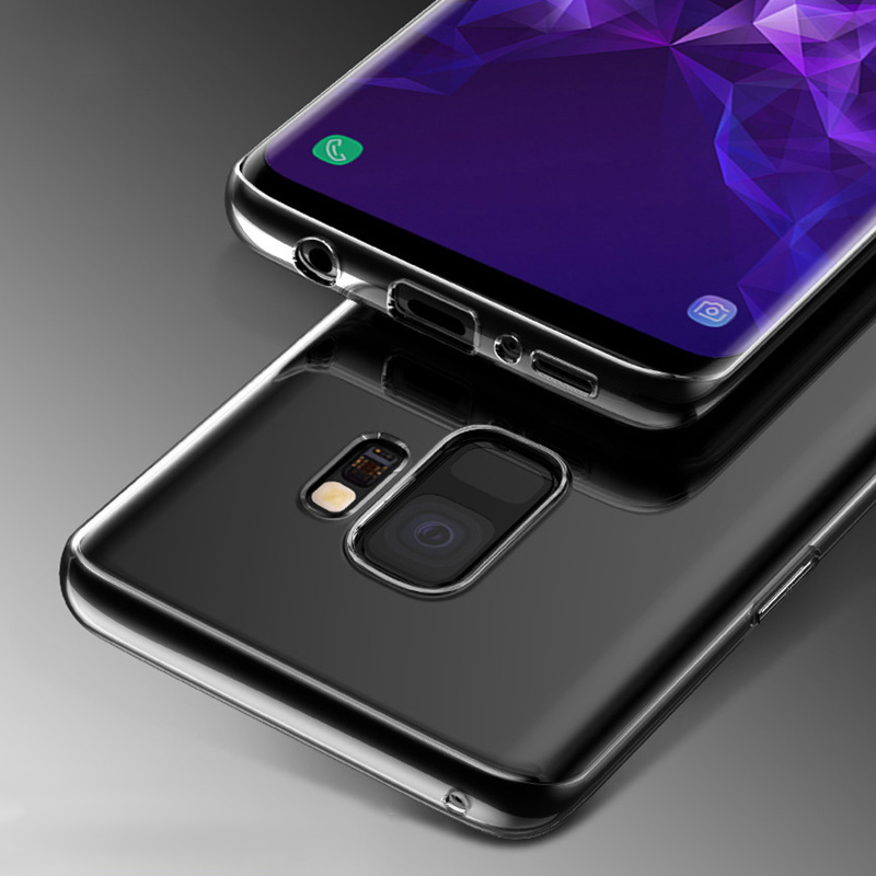 KCLC2903_3_Ultra-thin Transparent Clear Soft Silicone Case For Samsung Galaxy S9