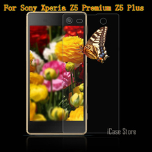 Z5 9H Premium Tempered Glass For Sony Xperia Z5 Premium Z5 Plus Screen Protector Film For Sony Z5 Premium E6853 E6883(China)