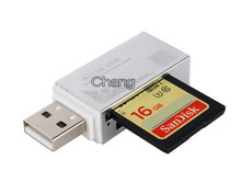 New Hot Smart Card Reader Multi Memory Card Reader for Memory Stick Pro Duo Micro SD TF M2 MMC SDHC MS