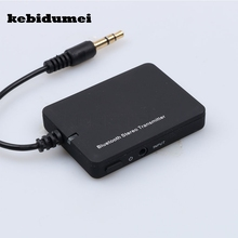 kebidumei 3.5mm bluetooth transmitter Mini Bluetooth Audio Transmitter A2DP Stereo Music Audio Transmitter(China)