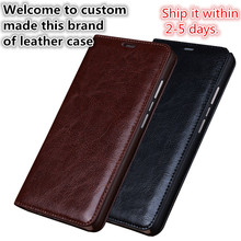 XQ03 genuine leather flip case for Samsung Galaxy A7(2016) phone case for Samsung Galaxy A7100 flip cover free shippinng(China)