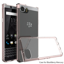 Ultra Thin TPU Acrylic Hard Case For Blackberry Keyone Transparent Crystal Clear Cover For Blackberry Keyone/Mercury/DTEK70 @(China)