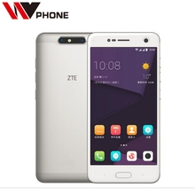 Original ZTE Blade V8 4G Mobile Phone Snapdragon 435 Octa Core Android 7.0 4G/ 64GB ROM 5.2 Inch 13.0MP Dual SIM Fingerprint(China)