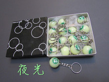 Mini Luminous billiard balls snooker accessories 25mm diameter for adult one box per price(China)