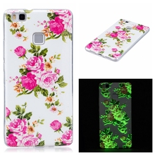 Night Light Case for Huawei P9 lite Case Cover Silicone Back Cover for Huawei Ascend P9lite Phone Coque Funda Capinha TPU
