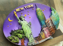 United States, New York City Tourist Travel Souvenir 3D Resin Fridge Magnet Craft GIFT IDEA(China)