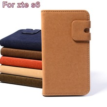New Fashion Luxury Bussiness Leather Phone Cases For ZTE Blade S6 Q5 5inch Unique Wallets Styles Original Flip Shell