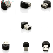 mosunx Hot Selling New Mini USB Bluetooth Dongle Adapter for Laptop PC Win Xp Win7 8 for iPhone 4GS 5GS Gfit 1cps Nov 22