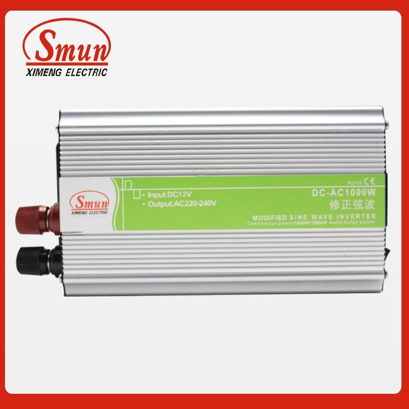 12VDC 24VDC to 220VAC~240VAC Modified Sine Wave Inverter 800W Power Solar Inverter With 5V USB Port<br>