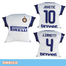 2016-2017 Inter Milan Away Match Jersey Cushion Seat Covers Support Soccer Cushion Throw Pillow Sofa Office Back Cushion Set