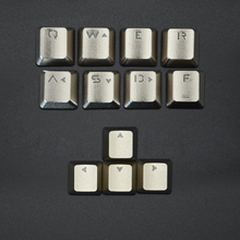 A Juggernaut Mechanical Keyboard Metal Keycap Transmitting Full Metal Keyboard Cover for All Kind of Mechanical Keyboard