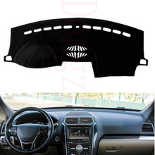 For Ford Explorer 2011-2016 Car Dashboard Cover Avoid Light Pad Instrument Platform Dash Board Cover Accessories