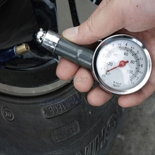 Car Dial Tire Gauge Meter Precision Pressure Tyre Measure Metal JUN14_15(China)