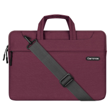 Cartinoe12/13.3/15.4 Inch Fabric Waterproof Laptop Messenger Shoulder Bag Carry Case Sleeve for Macbook hp dell sony laptop bag