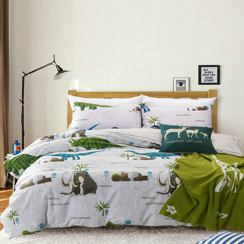dinosaur bedding set twin