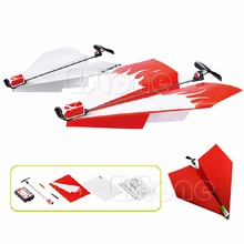 2017 Electric Paper Airplane Kid Conversion Powerup Propeller Gilder Model Aircraft  may20_30