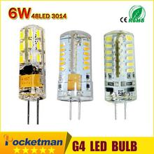 Led g4 AC 220V DC 12V Led bulb Lamp SMD 3014 3W 4W 5W 6W 7W Replace 10w 30w halogen lamp light 360 Beam Angle LED Bulb lamp