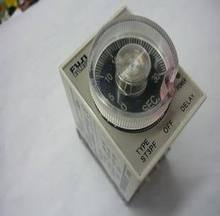 220V AC Power Off Delay Timer Time Relay 10 minutes 10min ST3PF & Base