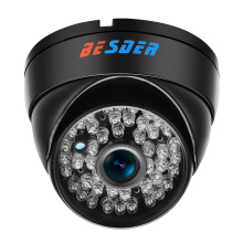 Metal Material Dome Indoor P2P 1.0 Megapixel CCTV Camera Fixed Lens HD Motion Detection ONVIF2 .0 IP Camera 720p