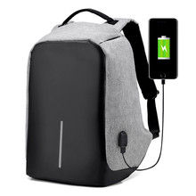 Multifunction USB charging Men Laptop Backpacks For Teenager Fashion Male Mochila Leisure Travel backpack anti thief(China)