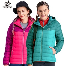 Women Ski Suit Joining together windproof Warm White Duck Down Snowboard Jacket Traveling Climbing Hiking Camping Eiderdown Coat(China)