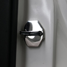 4pcs stainless steel door lock protective cover for Ford Explorer 2011 2012 2013 2014 2015 2016 2017