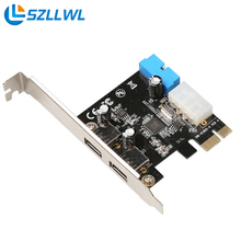 USB 3.0 type A PCI USB3.0 network adapters Card with low profile bracket