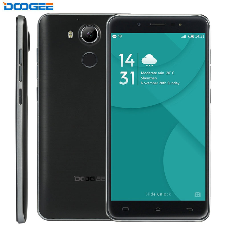 DOOGEE F7 Smart Phone 3GB+32GB Fingerprint Identification 5.5'' Android 6.0 MTK6797 Helio X20 Deca Core Network 4G Cell Phones(China (Mainland))