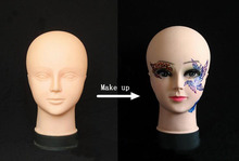 make up hed model Women's Mannequin Head Hat Display Wig  training head model  head model femal head model