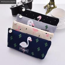 Cute Pencil Case Fabric School Supplies Bts Stationery Gift School Cute Pencil Box Pencilcase Pencil Cases School Tools
