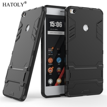 HATOLY For Armor Case Xiaomi Mi Max 2 Case Xiaomi Max 2 Shockproof Robot Silicone Rubber Hard Phone Cover For Xiaomi Mi Max 2