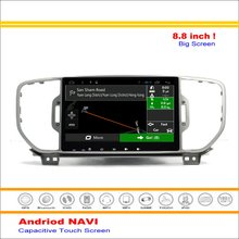Car Android GPS Navigation System For Kia Sportage ( QL ) / Kia KX5 2015~2016 Radio Stereo Audio Video Multimedia No DVD Player